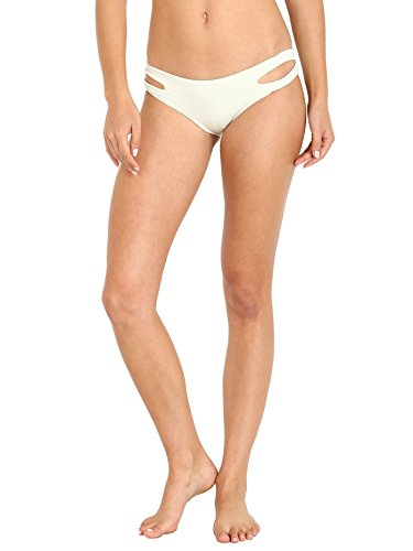LSpace Women's LSolids Tab Side Hipster Bikini Bottom (Classic) Mint S