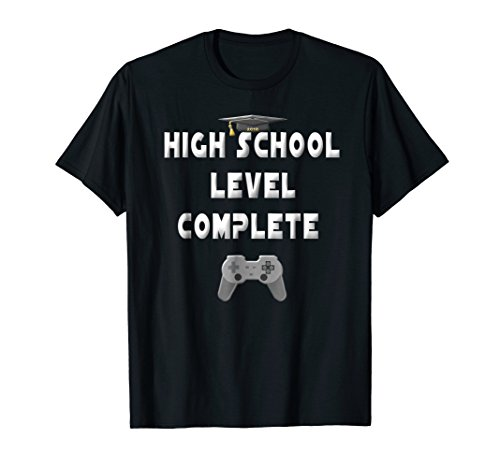 High School Graduation Shirt Video Gamer Graduation Gifts for $<!--$17.98-->