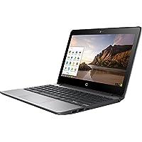 2017 HP 11.6 Inch Touch Screen Chromebook, Intel Celeron N3060, 4GB Memory, 16GB eMMC, WiFi 802.11ac, Bluetooth 4.0, USB 3.1, Webcam, HDMI, Chrome OS, Silver (Certified Refurbished)