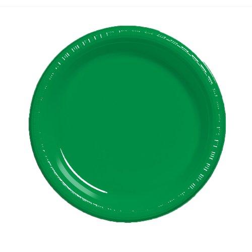 Creative Converting Plastic Plates Emerald