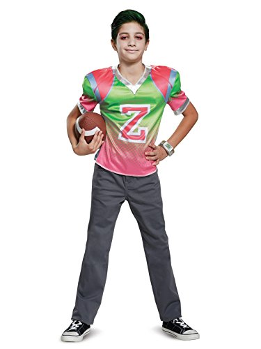 Disguise Zed Football Jersey Child Costume, Multi Color, Medium/(7-8) ()