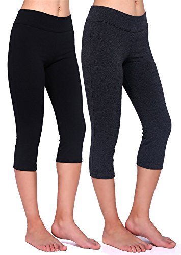 Daisity Womens Capri Legging Activewear