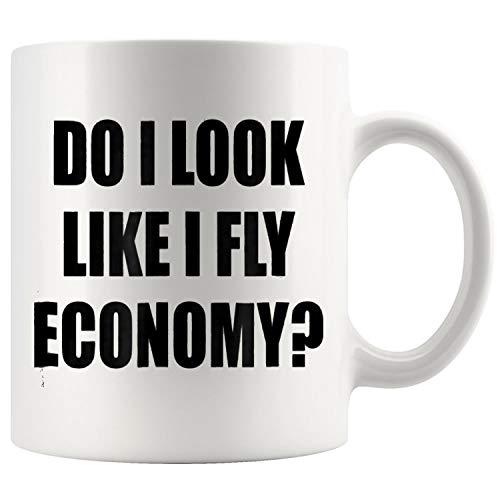 Do I LOOK Like I Fly ECONOMY Mug Coffee Mug 11oz Gift Tea Cups 11oz ()