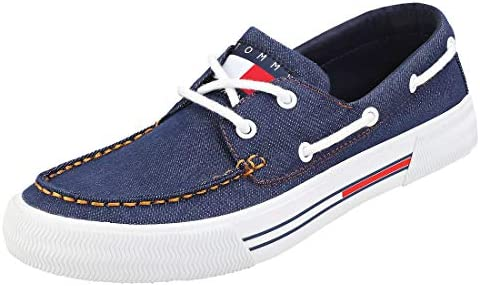 Tommy Jeans Hybrid City Mens Denim Textile Casual Trainers