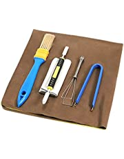 Keyboard Cleaner Sets, BEHEY Switch Keycaps Puller Flat File for Mechanical Keyboard Cleaning Kits Small Brushes for Clean Computer Keyboard Dust Off PC Cleaning Tools