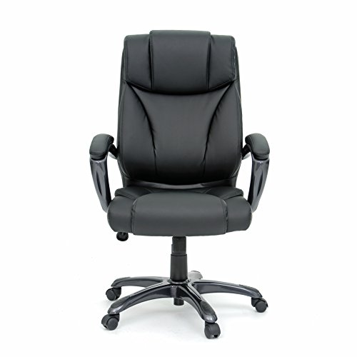 Sauder 412186 Office Chair Deluxe Leather Executive - Chair Sauder Office Furniture