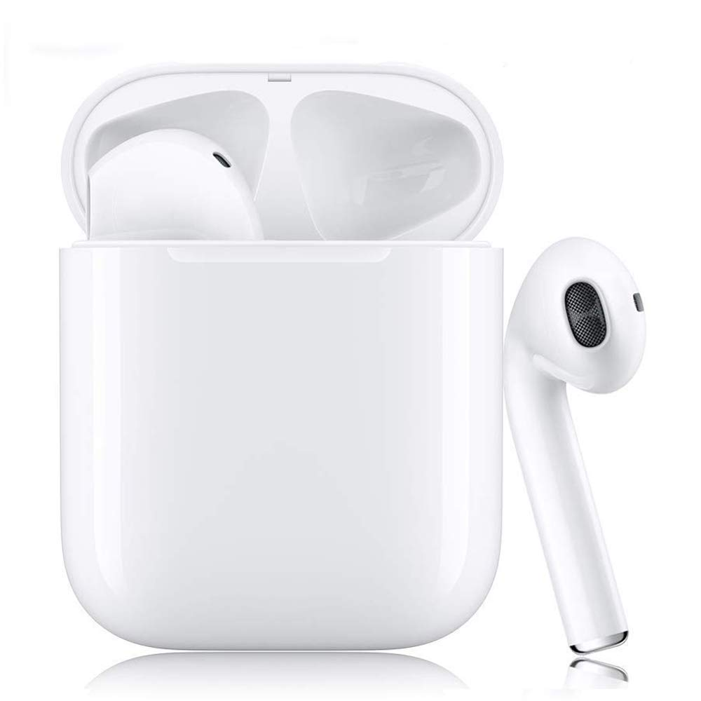 Bluetooth Headphones, Bluetooth 5.0 Wireless Earbuds, 3D Stereo 24H Playtime Wireless Sports Headset, IPX5 Waterproof, Pop-ups Auto Pairing for Apple Airpods Android iPhone Samsung 2019NewEarbuds