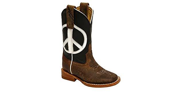 3aa1372724e Amazon.com | Anderson Bean STT Limited Peace Sign Boot | Boots
