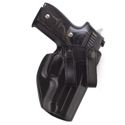 Galco Summer Comfort Inside Pant Holster for 1911 5-Inch Colt, Kimber, para, Springfield (Black, Right-Hand)