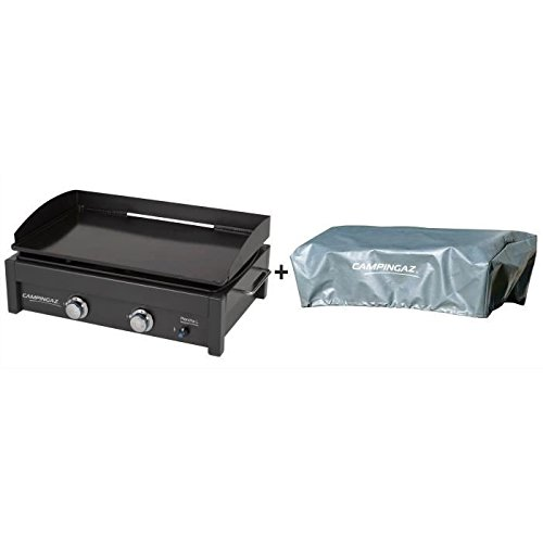Campingaz Plancha A GAS A Stellen L mit Bezug–Stahl emailliert–66x 42cm