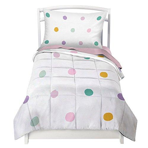 Multi Dot and Pink Toddler Set (Dot Bedding Pink)
