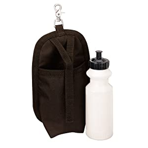 Weaver Leather Clip-On Holster with Water Bottle, Brown