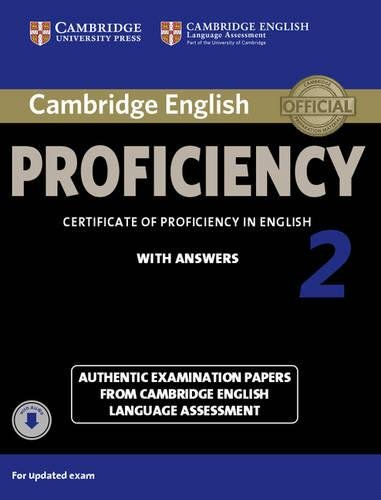 BEST! Cambridge English Proficiency 2 Student's Book with Answers with Audio: Authentic Examination Papers D.O.C