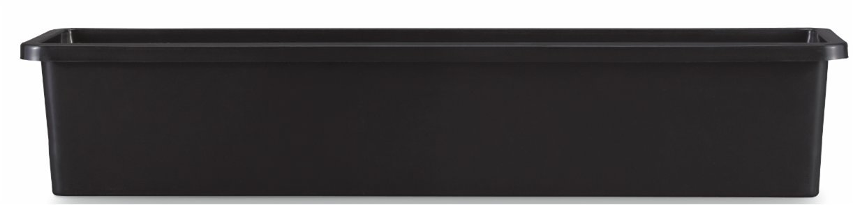 Pennington Décor 100507831 New England Pottery Window Box, 31.65''/Large, Black by Pennington Décor