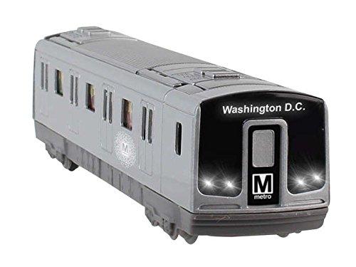 (Daron Washington DC Metro Subway Pullback with Lights and Sound)