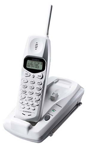 Uniden EXI2960 900 MHz Cordless Phone with Call Waiting/Caller ID (Ivory)