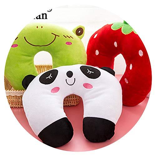 Cartoon Animals Panda Cat U Shaped Pillow Office Flight Travel Rest Support Head Body Neck Pillow Sl ()