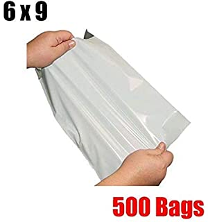 500 14x17 Poly Mailer Plastic Shipping Mailing Bags Envelope Polybag 2.4 Mils #6