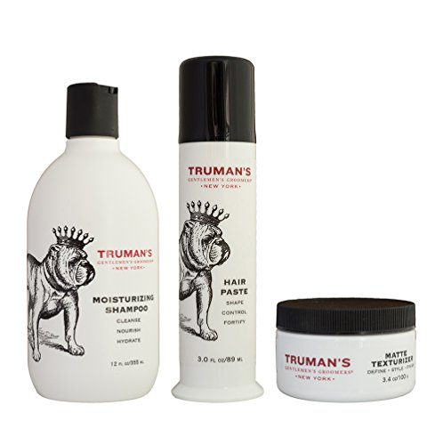 Truman's Gentlemen's Groomers Men's Hair Styling Control Paste - Long-Lasting Hold Beeswax - Lanolin for Moisture - Pump Delivery System 3oz by Truman's Gentlemen's Groomers (Image #5)
