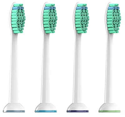 SoniShare New Replacement Toothbrush Heads for Philips Sonicare ProResults HX6013/HX6014 [4, 8, 12, 20 Packs Available]