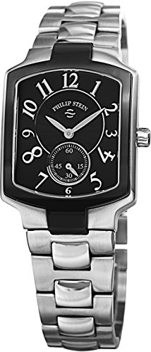 Philip Stein Classic Square Ladies Stainless Steel Watch 21TB-FB-SS3