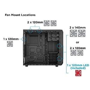 Corsair Spec 1 Cabinet+ 550W PSU+ 8GB Vengence RAM
