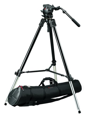 UPC 719821259800, Manfrotto Pro Video Support System w/528XB Tripod Legs, 526 Pro Video Head and MBAG120P Padded Tripod Case