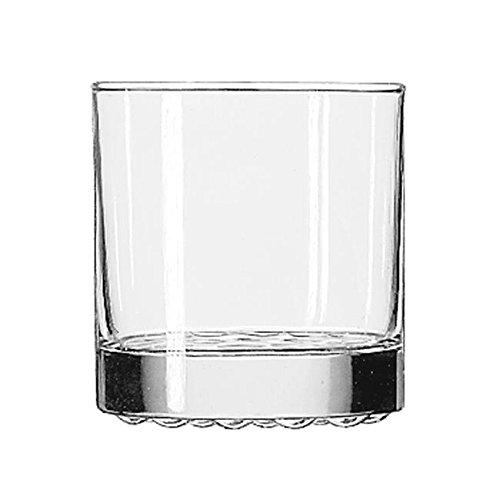 Nob Hill Fashioned Old (LIB23386 - Nob Hill Glass Tumblers, Old Fashioned, 10.25oz, 3 3/8quot; Tall)