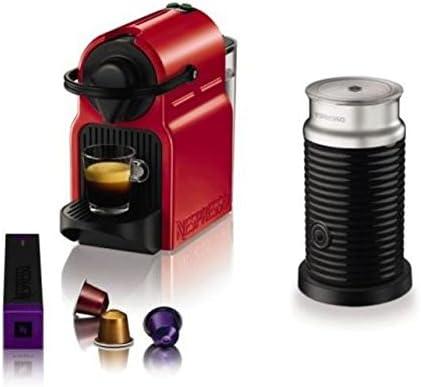 Turmix TX 155 Inissia Ruby Red automática + Cápsulas de Nespresso ...