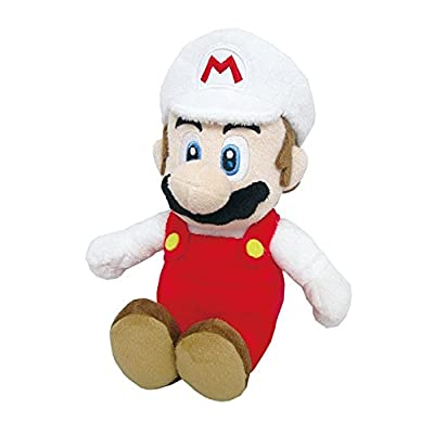 "Little Buddy Super Mario All Star Collection 1420 Fire Mario Stuffed Plush, 9.5"": Toys & Games"