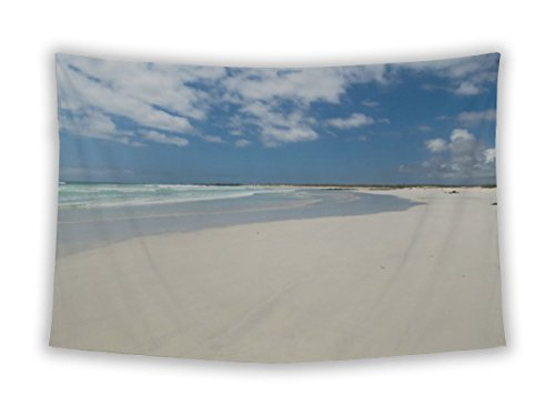 Gear New Wall Tapestry For Bedroom Hanging Art Decor College Dorm Bohemian, Tortuga Beach Galapagos Islands Ecuador, 80x68 80 Tortuga Art