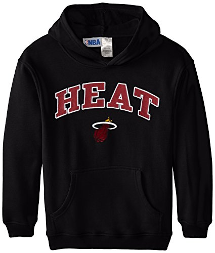 NBA Miami Heat Block Logo Hooded Fleece, Youth Medium (Miami Heat Hoodie Youth compare prices)
