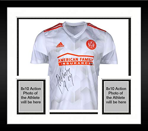 Framed Josef Martinez Atlanta United FC Autographed White Adidas Replica Jersey - Fanatics Authentic Certified
