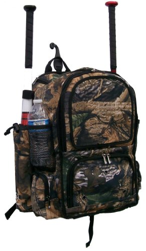 Tree Camouflage Chita CY Youth Softball Baseball Bat Equipment Backpack TRCACY by MAXOPS