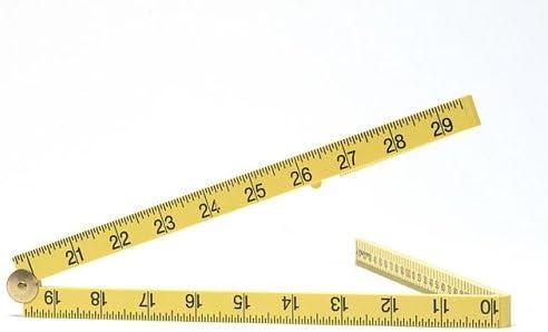Fisco FSCXFY1ME Regla plegable tama/ño: 1m//39pulgadas