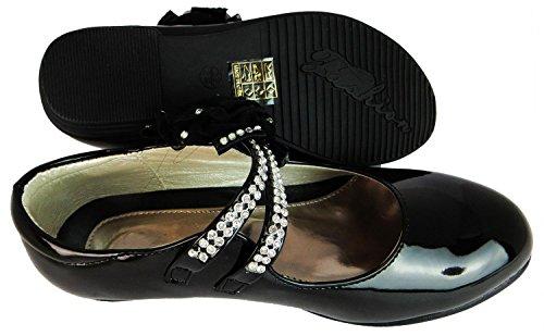 Princess Pour Filles Qm-6b Synthétique Chaussures Habillées