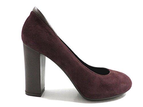 Hogan - Zapatos de vestir de Piel para mujer Morado violeta