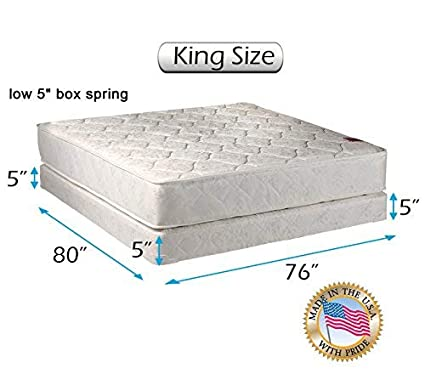 Amazoncom Dream Solutions Usa Legacy King Size 76x80x8
