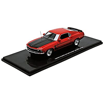 43rd Street Collectibles 43003 - Véhicule Miniature - Ford Mustang Boss 302 - Echelle 1:43