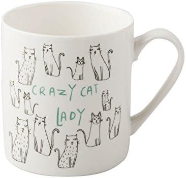 Crazy Cat Lady Spectrum Designz Coffee Tea Mug Cup White