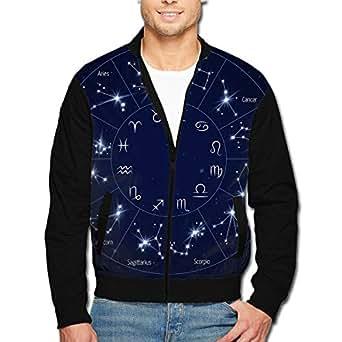 Amazon.com: YH21 Mens Zipper Bomber Jacket Coat, Winter