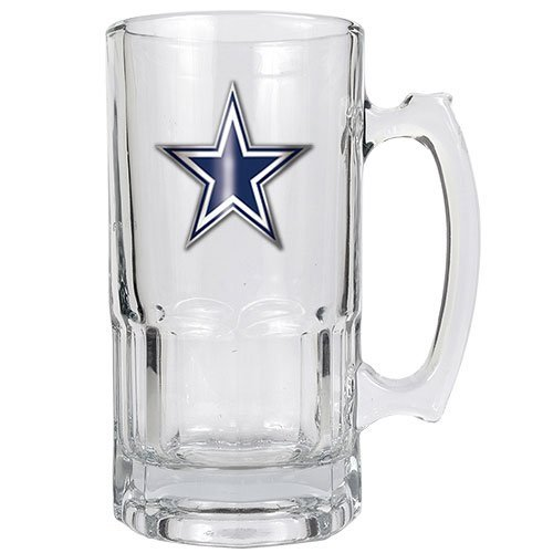 NFL Dallas Cowboys 1-Liter Macho Mug (Primary Logo) 1l Macho Beer Mug