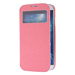 ZCL Dendritic Pattern PU Leather Full Body Case for Samsung Galaxy S4 I9500 (Assorted Colors) , Rose