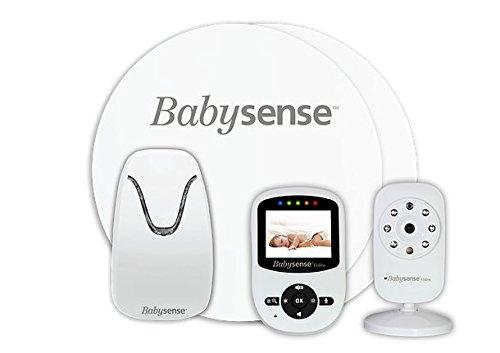 NEU BABYSENSE Babyphone mit Sensormatten und Kamera: Babysene Video Babyphone + Babysense 7 Hisense Ltd