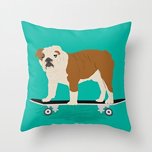 (ArtsLifes Dogs Christmas Pillow Shams Best For Gril Friend Living Room Drawing Room Son Shop Inches/45 By 45 Cm(double Sides) )