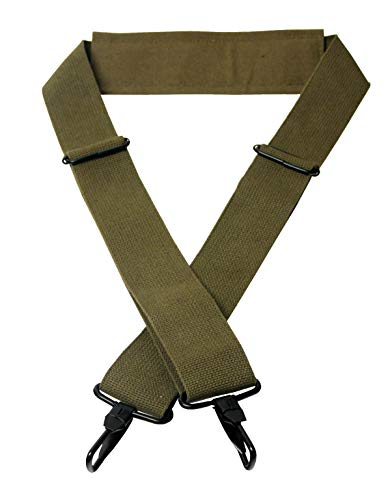 Texsport 07582 Web Shoulder Strap, Olive Drab (Texsport Canvas Duffel)