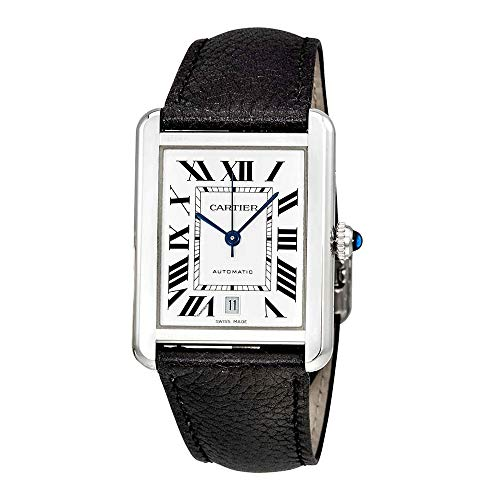 Large Cartier Tank - Cartier Tank Solo Automatic Mens Watch WSTA0029