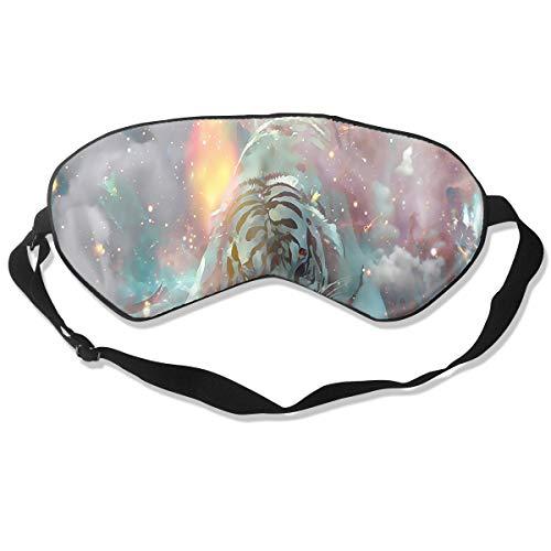 Eye Mask Galaxy Tiger Personalized Eyeshade Sleep Mask Soft for Sleeping Travel for Men