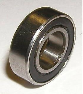 """Rubber Ball Bearing Bearings R3RS 3//16/"""" x 1//2/"""" x 0.1960/"""" 100 PCS R3-2RS"""