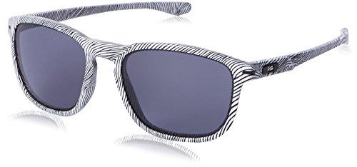 Oakley Men's Enduro White Fingerprint/Grey - Enduro Sunglasses Oakley